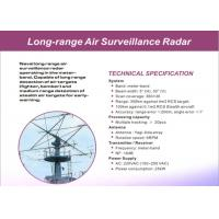 Buy cheap High Accuracy Air / Land Surveillance Radar System Of Long Range Detection from wholesalers