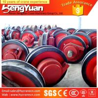 Buy cheap OEM provided overhead travelling forged industrial trolley wheeL from wholesalers