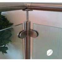 Buy cheap Stainless Steel clamp for glass stair railing from wholesalers