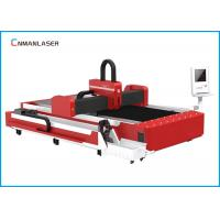 China 1000w Stainless Steel Silver Metal Tube Fiber Laser Cutting Machine Price on sale