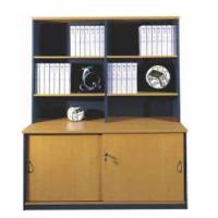 Buy cheap simple style Melamine office furniture,files cabinet,bookcase HT-006 from wholesalers