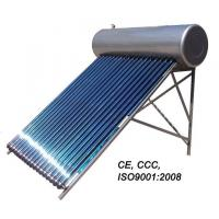 China pressurized heat pipe solar water heater on sale