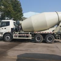 Buy cheap High Speed Mini Mix Concrete Truck With ZF8118 Steering Gear Box ZZ5257GJBN3841W from wholesalers