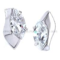 Buy cheap Noble CZ Ear Stud Jewelry (HZE0291) from wholesalers