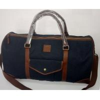 Buy cheap Canvas Duffel Bag, one main compartment , with 12oz cotton canvas , leather trims from wholesalers