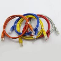 Buy cheap Network RJ45 Cat5e Patch Cord Bare Copper 7X0.12MM Stranded Patch Cables 5 Colors Patch Le from wholesalers