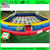 Buy cheap kids sport games new square playing game mat large inflatable twister game for sale from wholesalers