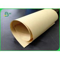 Buy cheap 80gsm 100gsm Good Oil Resistance Brown Craft Paper For Bags Of Shopping In Rolls from wholesalers