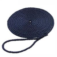 Buy cheap 3 strands polyester rope/Dock Line/Anchor rope/braided polyester rope from wholesalers