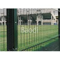 Buy cheap Guard Safety Screen Anti Climb Mesh Fence Panels 8 Guage With Metal Square Post from wholesalers