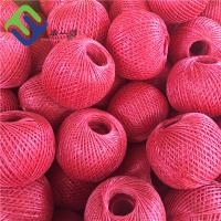 Buy cheap Customized Color  Polypropylene Split Flim Baler Twine 2mm/3mm Hot Sale from wholesalers