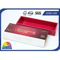 Buy cheap High End Corrugated Carton Box for Hair Straighten Product , Hair Extension Packaging Box from wholesalers