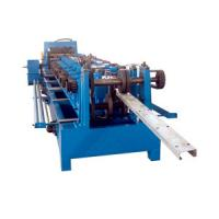 Buy cheap Hydraulic Cutting 5.5KW C Purlin Cold Roll Forming Machine 10 - 12M / Min Speed from wholesalers