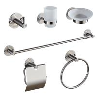 Buy cheap 83500 Series 6 set - Round &Stainless steel 304&Brush &Bathroom Accessories &kitchen,Sanitary Hardware from wholesalers
