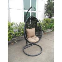 Buy cheap High-end quality outdoor indoor garden wicker rattan swing seats from wholesalers