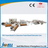Buy cheap Jwell hot sale PVC WPC foaming co-extrusion semi- skining extrusion line from wholesalers
