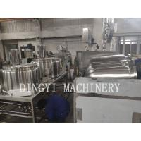 Buy cheap Safety Operation Shampoo Mixing Machine / Industrial Cosmetic Equipment 100L from wholesalers