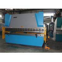 Durable NC Press Brake Machine Hand Operated Bending Machine European CE Standards