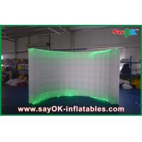 Buy cheap Attractive Giant Inflatable Air Wall Waterproof 2 Led Light from wholesalers