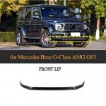 Buy cheap Carbon Fiber Front Bumper Lip for Mercedes Benz G-Class Amg G63 2019 from wholesalers