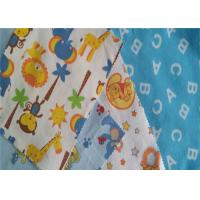 Buy cheap Twill Lightweight Flannel Fabric Baby Bedding Fabric Printed Cotton Flannel from wholesalers