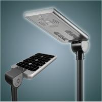 Buy cheap 50w Bridgelux chips waterproof ip65 outdoor integrated solar led street light from wholesalers