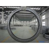 Buy cheap Electricity Equipment Single Row Slew Ring Bearings Four Point Contact Ball External Gear from wholesalers