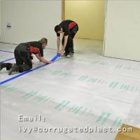 Buy cheap Corrugated PP Plastic /correx sheet/fluteboards Floor Protection Sheet from wholesalers