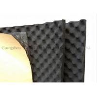 Buy cheap Black Egg Crate Acoustic Foam Panels 12mm Thickness Rubber Acoustic Sound Panels from wholesalers