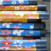 Buy cheap Flower Design PVC coated Wooden Broom/Mop Handle/Stick/Pole/Rod from wholesalers