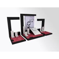 Buy cheap Jewelry Showcase Display Set  Acrylic Store Window Stand for Necklace,Earring,Ring from wholesalers