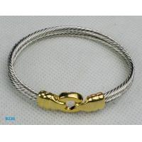 Buy cheap Wholesale custom design metal fashionable silver cuff bracellet from wholesalers
