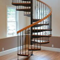 China Factory customized house low cost spiral stairs for sale in philippines on sale