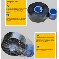 Buy cheap 33mmx600m Ink inside or outside  videojet tto ribbon for expiry date coding on food packages from wholesalers