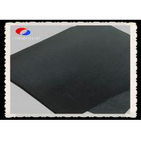 Black Fire Resistant Felt Rayon Based 5MM Thickness Carbon Felt Length Customized