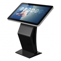 Buy cheap Indoor Interactive Touch Screen Kiosk Digital Kiosk Android Smart Video from wholesalers
