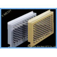 Buy cheap Oval Hole Perforated Metal Mesh , Punch Plate Screens Anodizing Aluminum Alloy 1100 from wholesalers