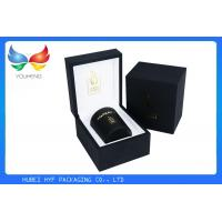 China Hot Stamping Logo Luxury Gift Boxes And Bags Wooden And Leather Material on sale
