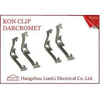 Buy cheap Electro Galvanized EMT Conduit Fittings NO 65 Manganese Steel Caddy Clip Kon Clip from wholesalers
