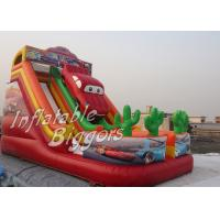 Buy cheap Car Carton Kids Inflatable Slides from wholesalers