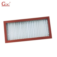 Buy cheap 400degree High Temperature Resistance Stainless Steel HEPA Filter 19.17m2 from wholesalers