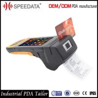 Buy cheap 4G LTE Handheld Mobile Handheld Device with Biometrics Fingerprint Reader Printer from wholesalers