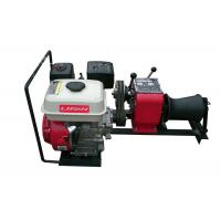 Buy cheap 1 Ton Gasoline Engine Powered Cable Drum Winch for Power Construction product
