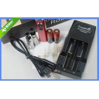 Buy cheap Healthy LCD E-Cigarettes 14500 Battery Aluminum Black / Red from wholesalers