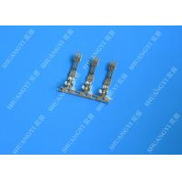 Buy cheap 2.00 mm Pitch Phosphor Brone Battery Wire Connectors Terminals Fire Rated Tin Plated Finish from wholesalers