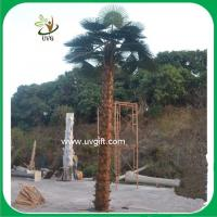 Buy cheap UVG PTR032 indoor and outdoor coconut palm artificial tree with real bark for park decor from wholesalers