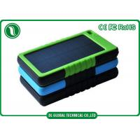Buy cheap Rechargeable Backup Battery Solar Portable Power Bank For Mobile Devices from wholesalers