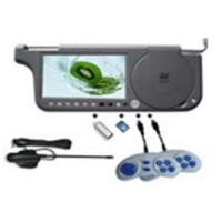 Buy cheap Car DVD Sunvisor DVD with TV/Touch Screen/Game/FM/SD/USD from wholesalers