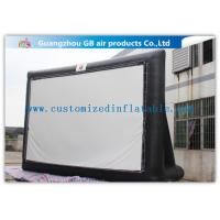 Buy cheap Large Inflatable Movie Screen Outdoor Cinema 8 X 4.5m Free Logo Printing from wholesalers