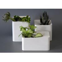 Buy cheap Large Flower Pot Molds Silicone Concrete Square Vase Custom Cement Flower Pot Moulds from wholesalers